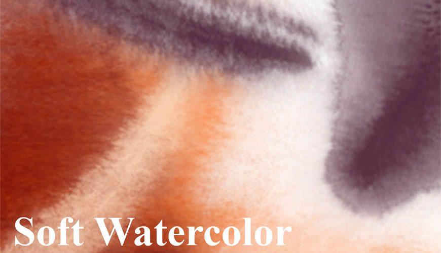 فرش فوتوشوب ناعمة مجانية للالوان المائية