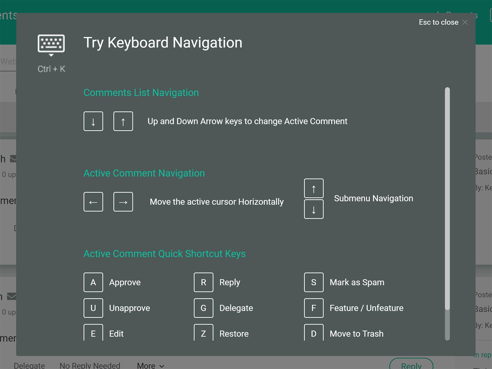 Klaviatura naviqasiyası