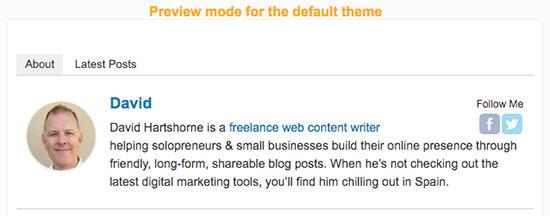 4 Müqayisə olunan WordPress üçün ən yaxşı müəllif qutusu plaginləri 1