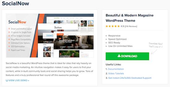 Mövzu 3f MyThemeShop Sosial İndi
