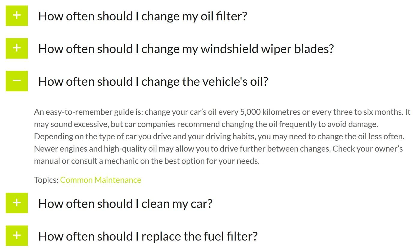 Ultimate FAQs plaginini göstərən bir ekran görüntüsü