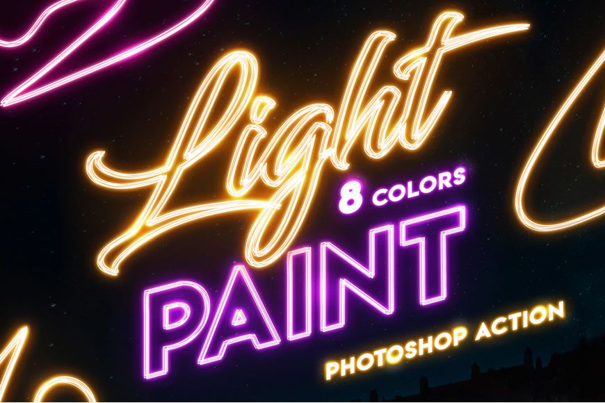 Paint with Photoshop brushes without strip light effect