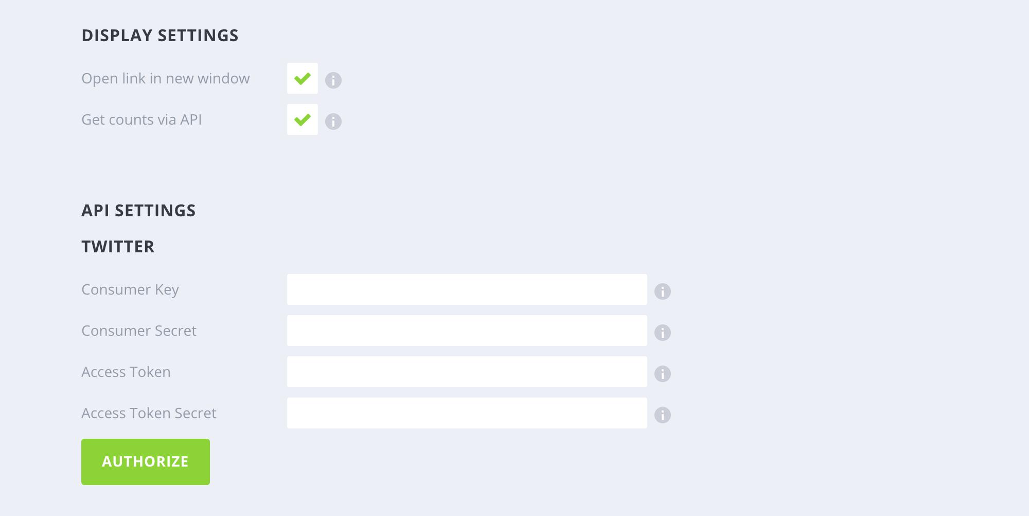 API inteqrasiyası
