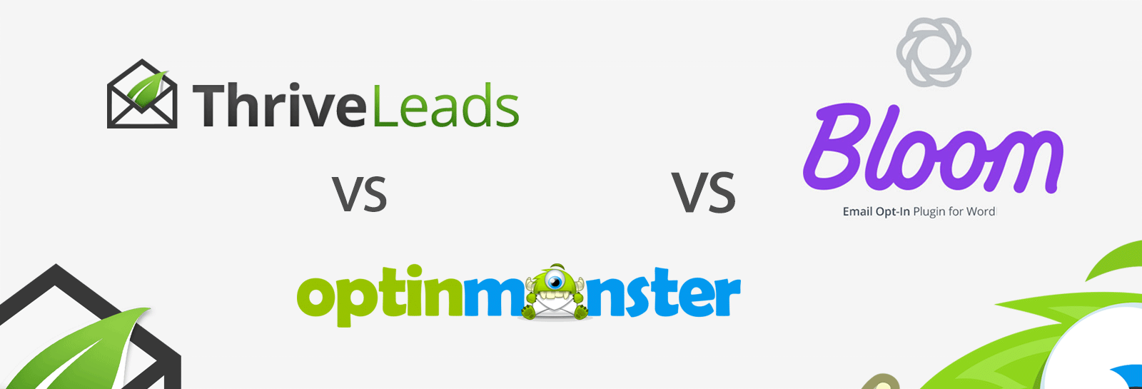 Thrive Leads, OptinMonster lub Bloom Email Optin Plugins