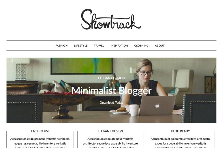 El tema de WordPress de Minimalistblogger es el número 7 cuando se trata de temas preparados para el futuro