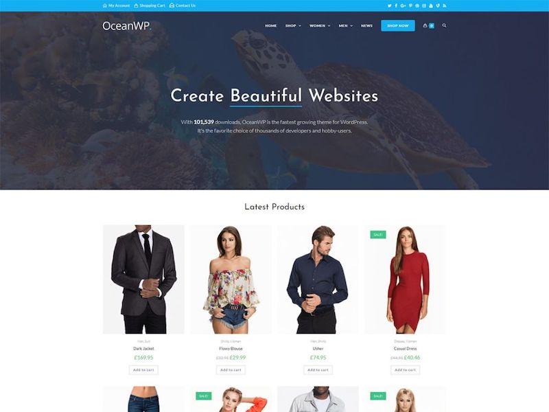 Tema de WordPress OceanWP