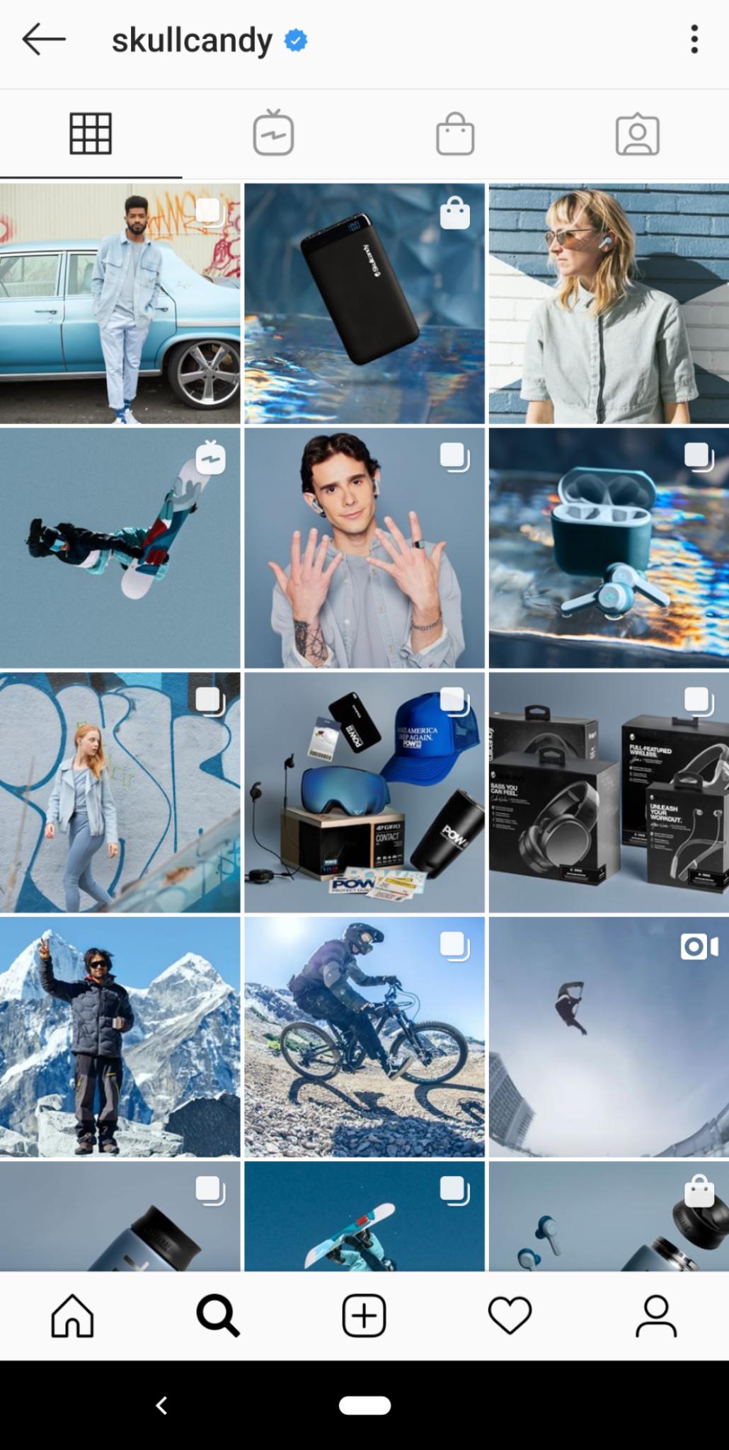 Incluso cuando vendes en Instagram, tu contenido debe ser creativo y llamativo
