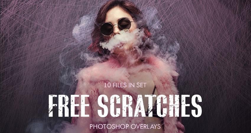 Scratch Overlays Efectos de fotografía