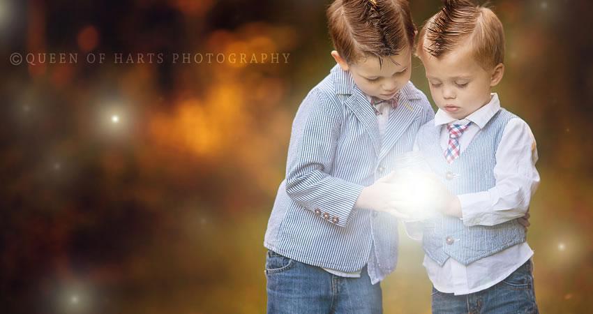 Efectos de fotografía de superposición de luciérnaga