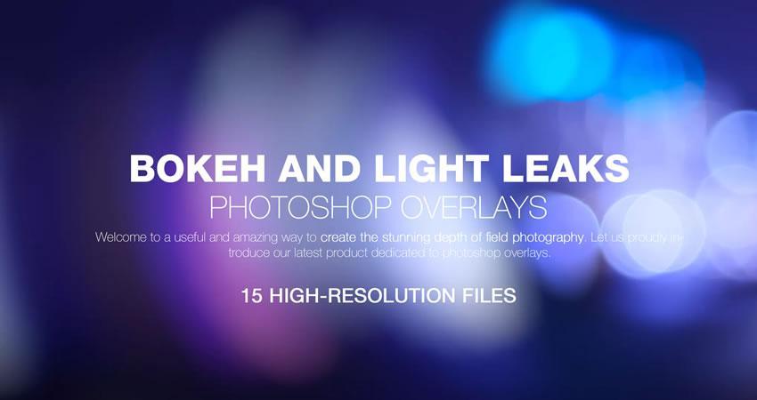 Bokeh Light Leaks Hiệu ứng ảnh