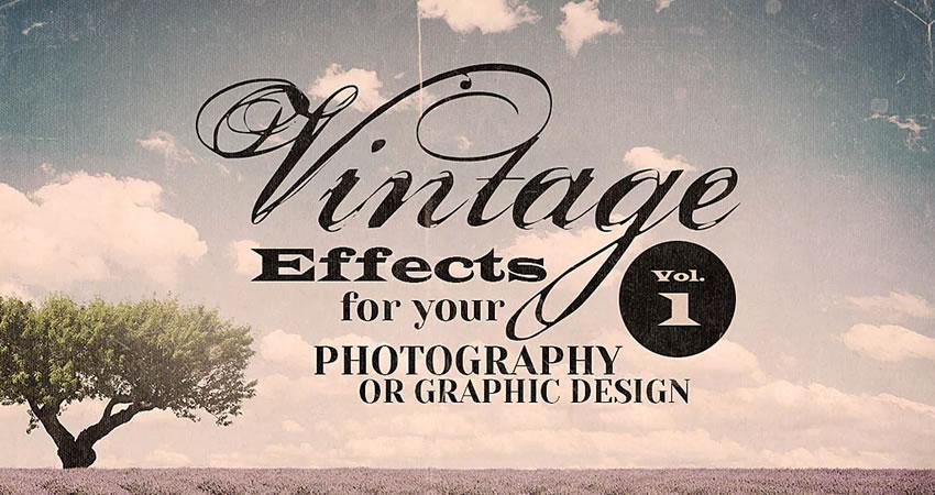Efecto Vintage Recursos Fotografía Efectos