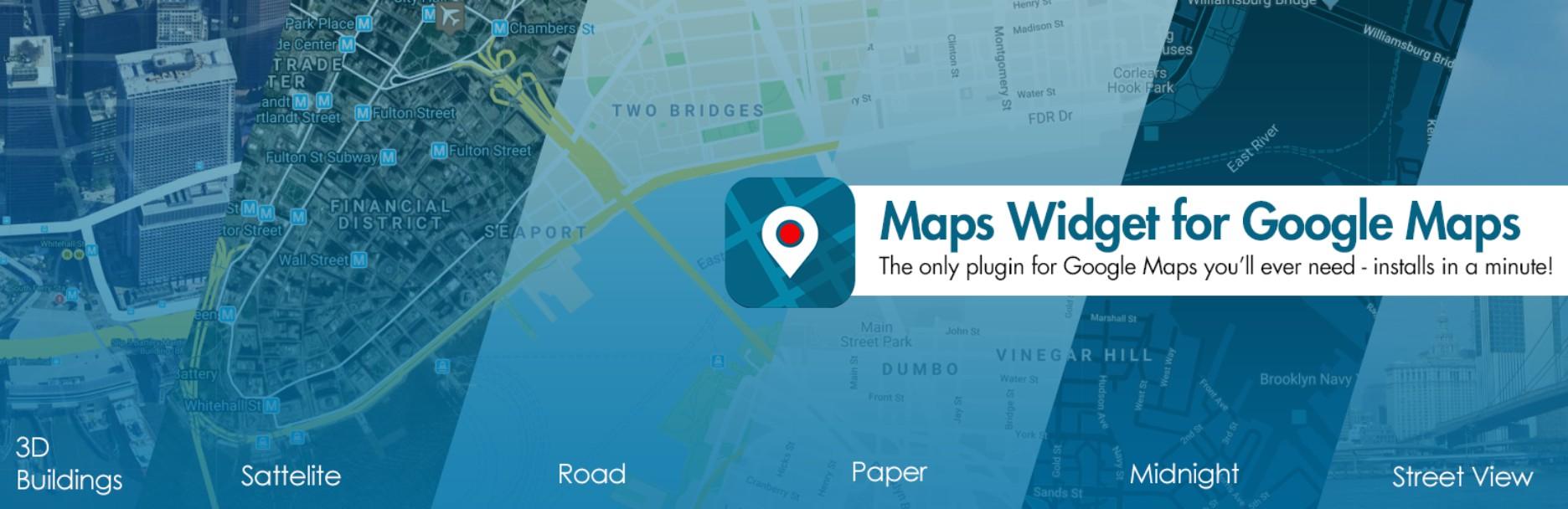 Widget de mapas para Google Maps