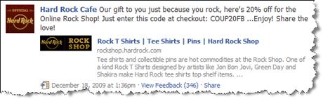 Hard Rock Cafe içindədir Facebook