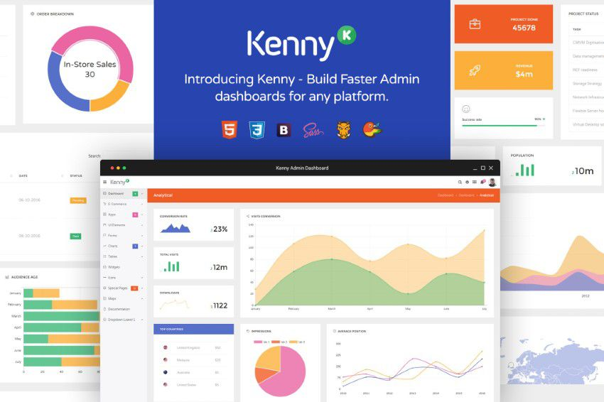 Kenny Bootstrap Admin
