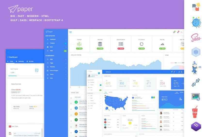 Kağız Panel Bootstrap Manager