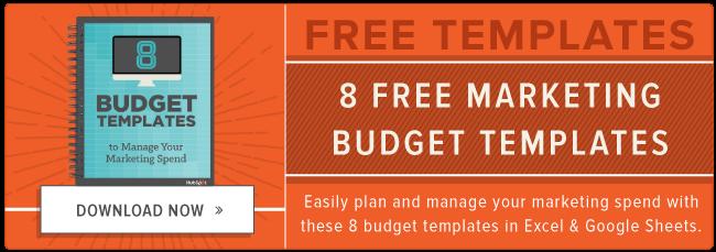 descargar plantillas gratuitas de presupuesto de marketing