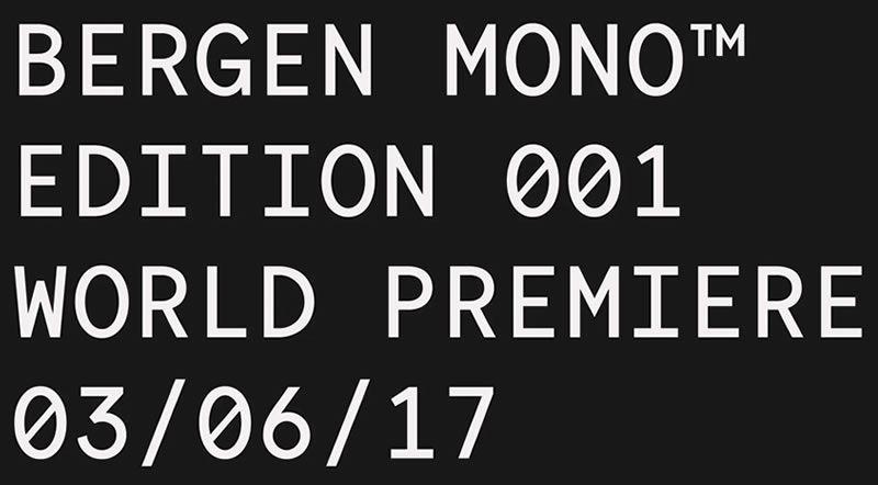 Bergen Mono proqramlaşdırma kod mənbələri
