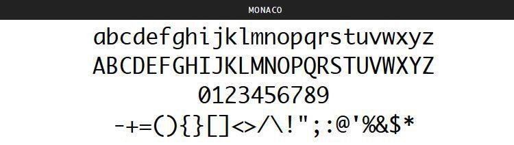 Monaco apple Mac OSX pulsuz proqramlaşdırma kod mənbələri