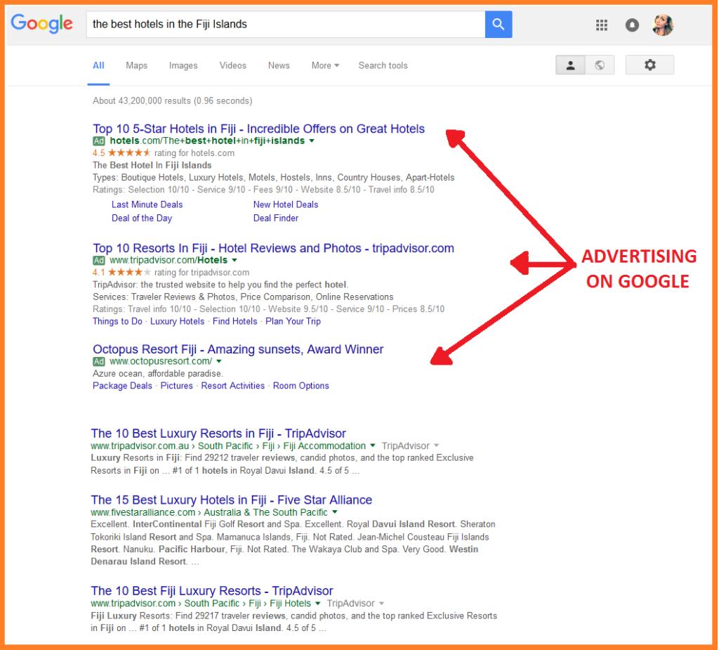 publicidad en internet google