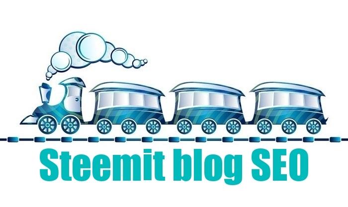 Blog SEO Steemit