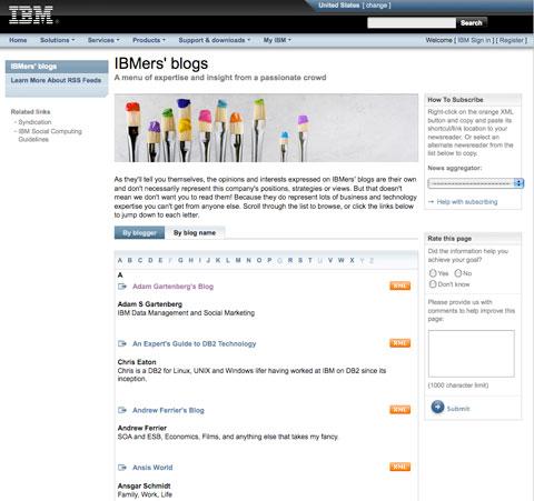 Cách IBM sử dụng phương tiện truyền thông xã hội để kích thích sự đổi mới của nhân viên 2