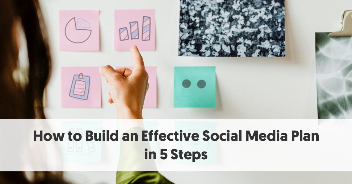 Ako vybudovať efektívny plán sociálnych médií 5 ľahké kroky