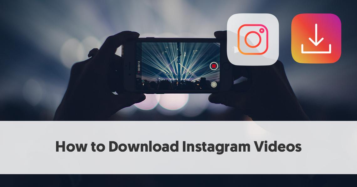 Jak pobierać filmy z Instagram