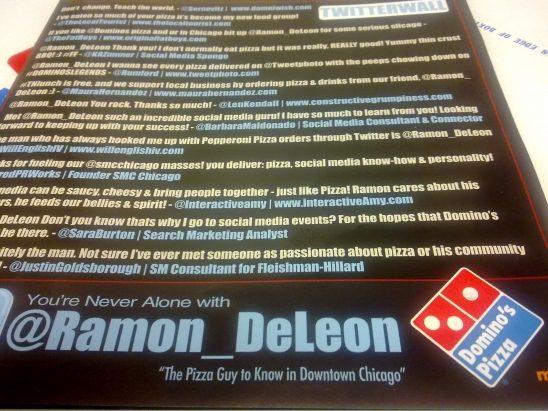 """Chicago Pizza Guy tạo ra hiệu ứng """"Domino"""" của truyền thông xã hội 3"""
