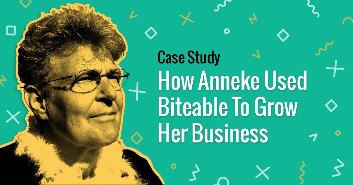 Cómo Anneke usó Biteable para expandir su negocio 1