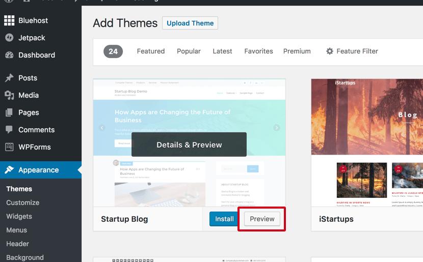 Cách chọn chủ đề WordPress mà bạn sẽ yêu thích 1