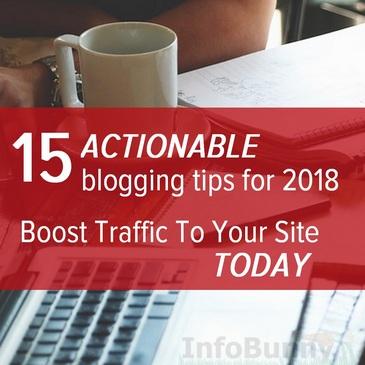 Blogin vinkkejä vuodelle 2018: 15 käytännöllistä neuvoa nousta ylös …