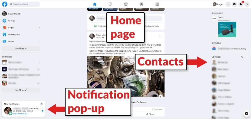 Facebook    Yenidən dizayn qalın və istifadəsi asandır
