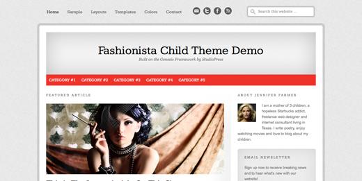 Fashionista Uşaq Teması
