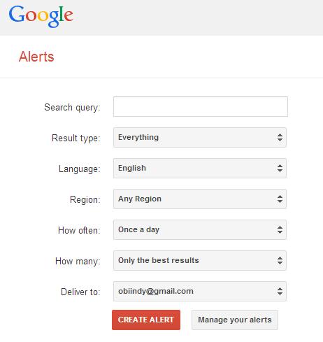 Google alerta a casa