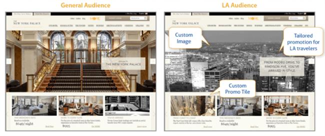 Configuración de imagen: ajuste de contenido dinámico
