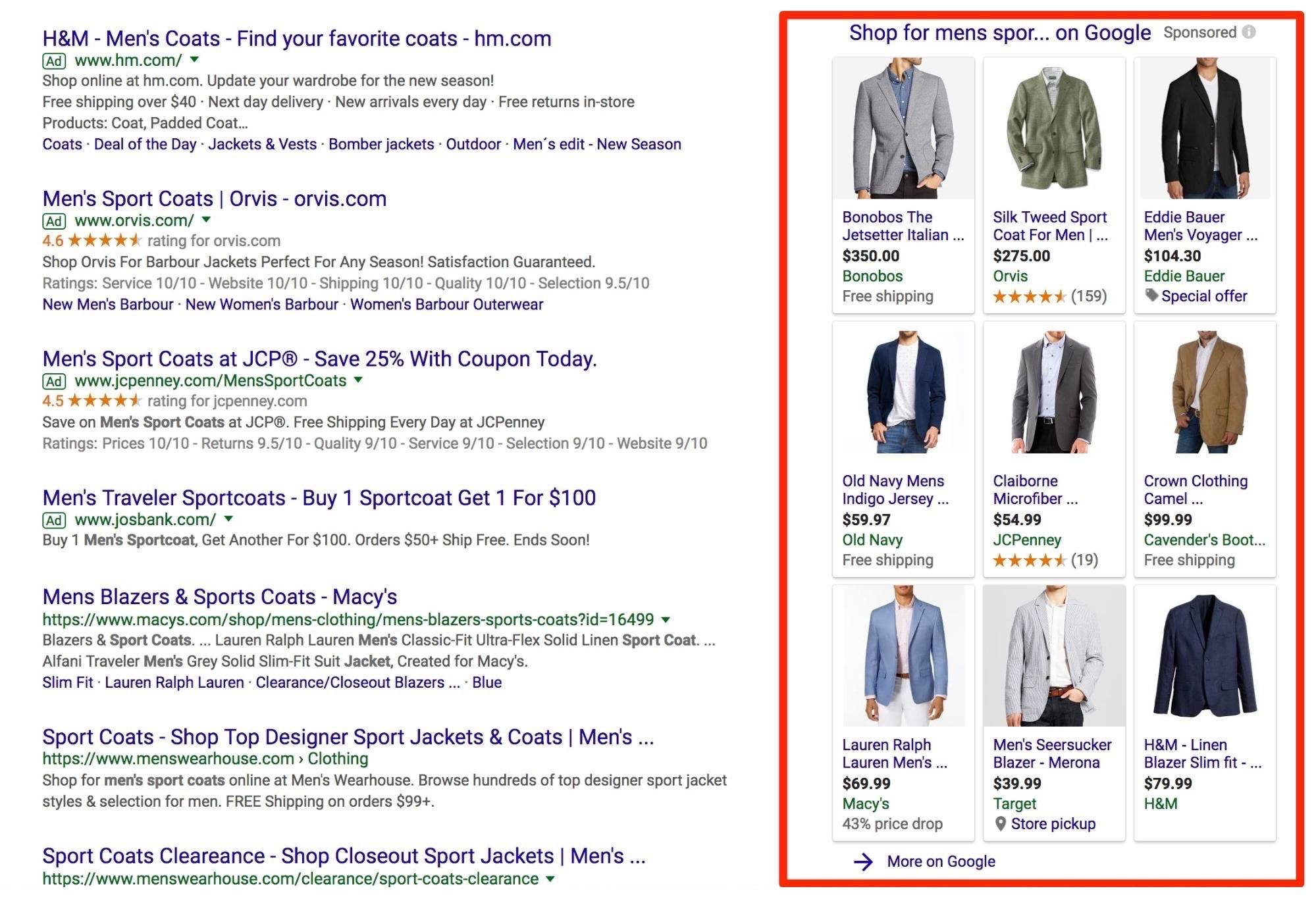 Google məhsul reklamları