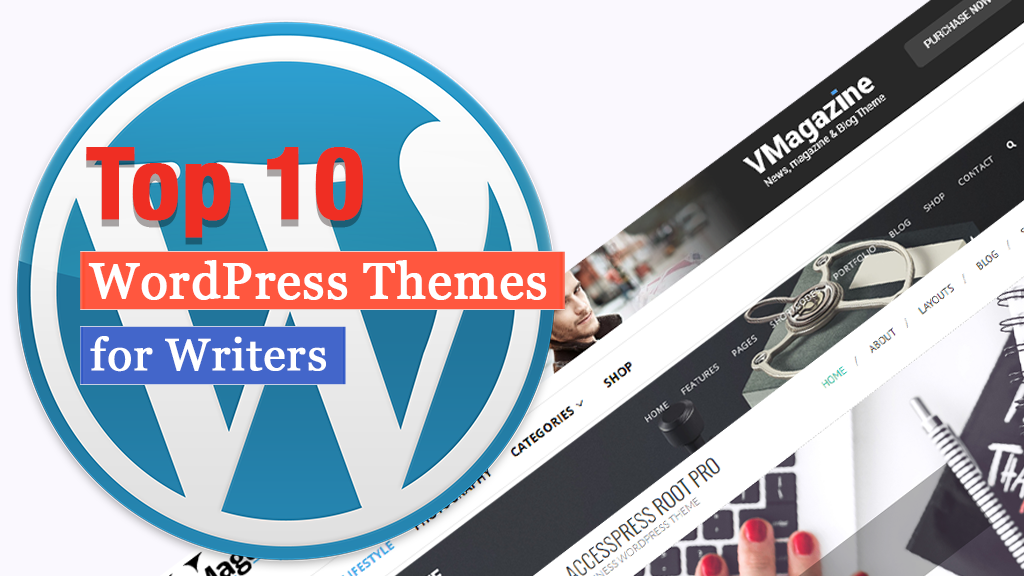 Los 10 temas principales de WordPress para escritores