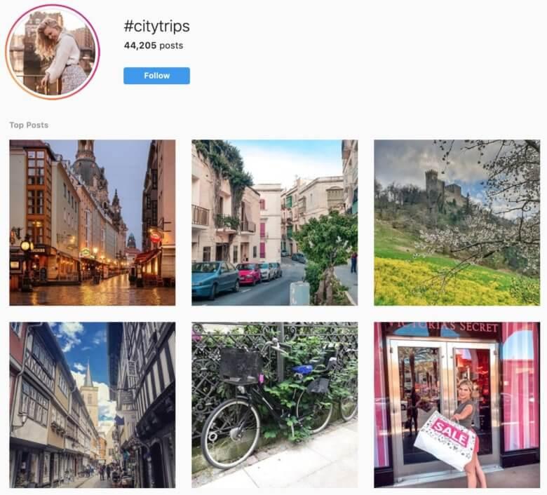 los mejores hashtags de viaje