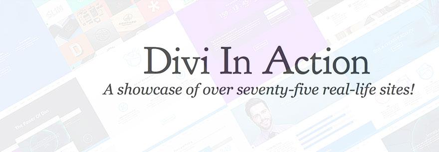 Yli 75 mahtavaa esimerkkiä Divi WordPress -teemasta toiminnassa (2020)