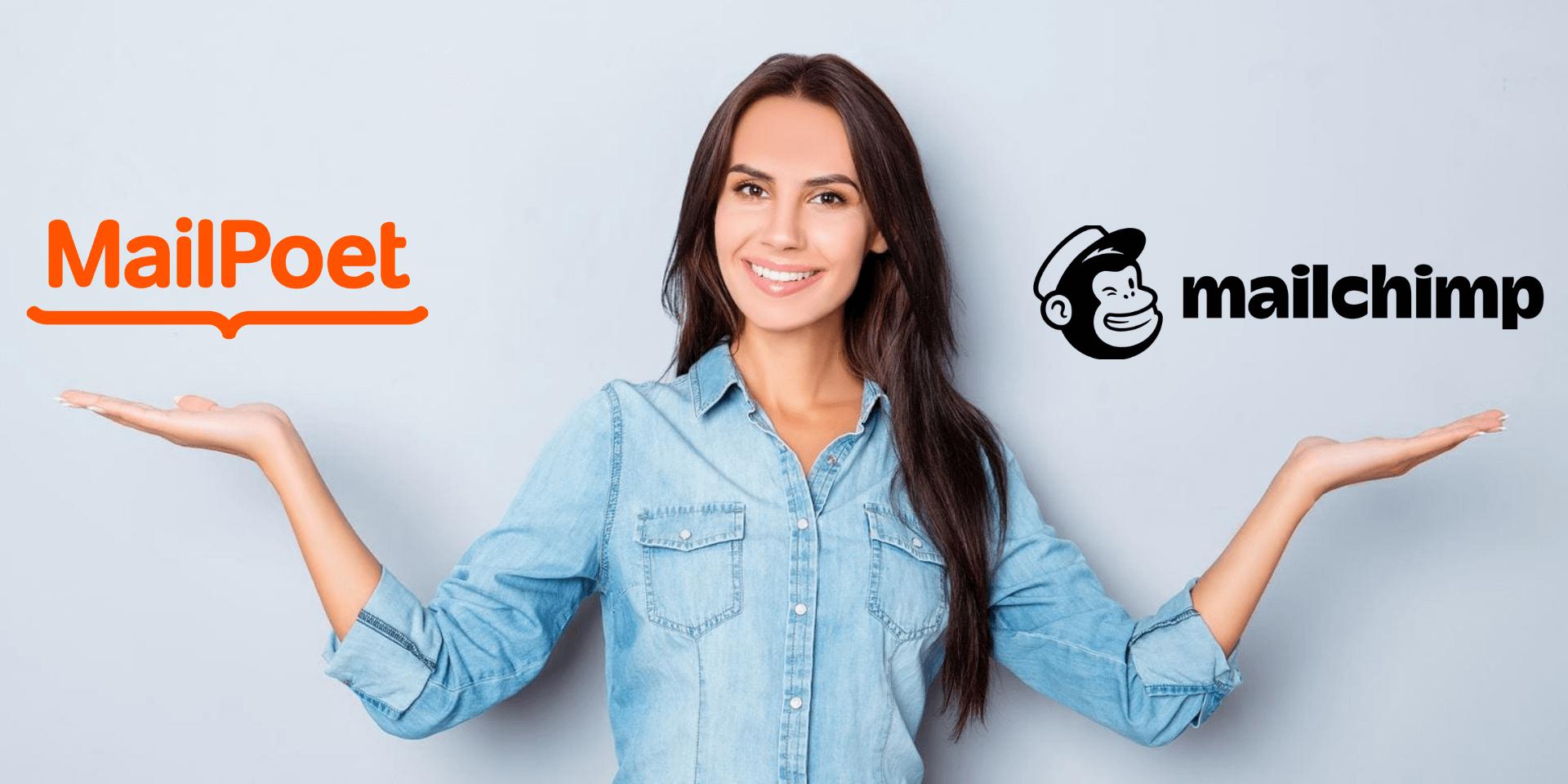 WordPress E-poçt Marketinqi üçün MailPoet vs MailChimp 1