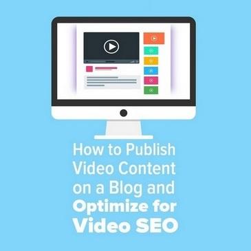 Tối ưu hóa cho video SEO: cách xuất bản nội dung video trên blog 1