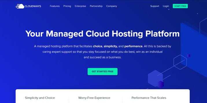 Alojamiento Cloudways PrestaShop