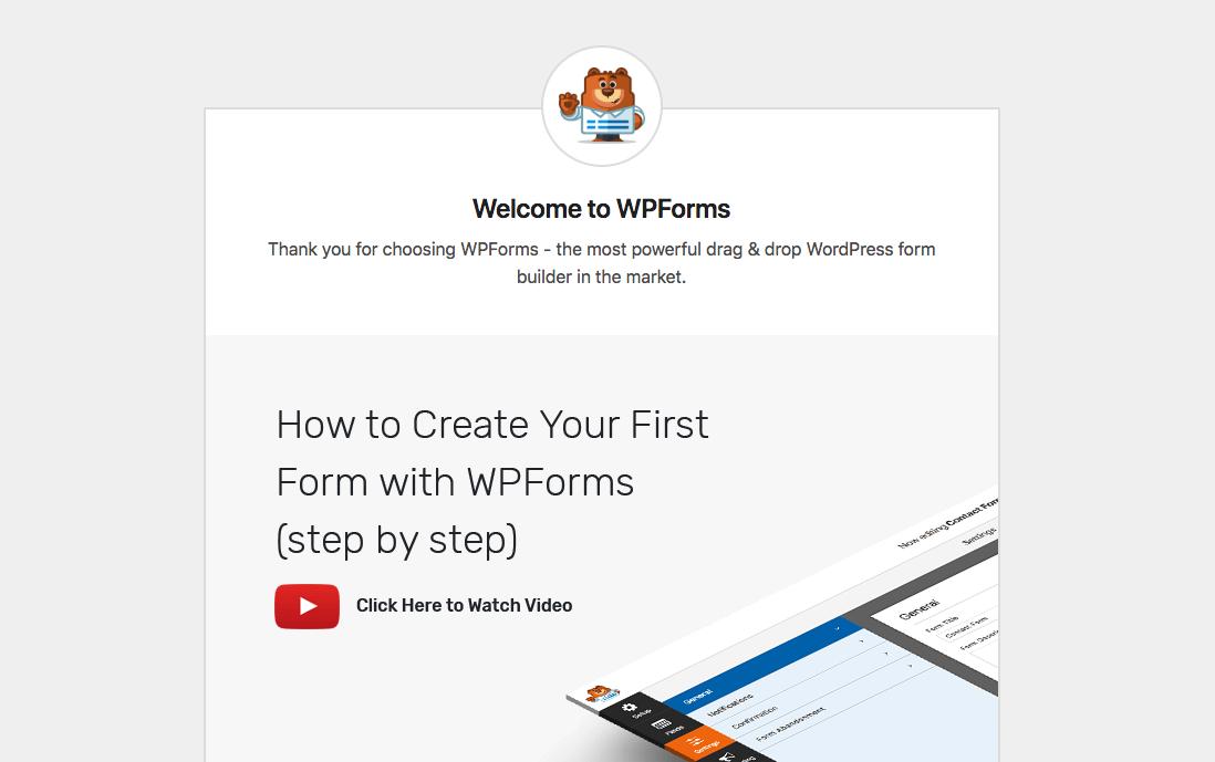 WPForms quraşdırılması