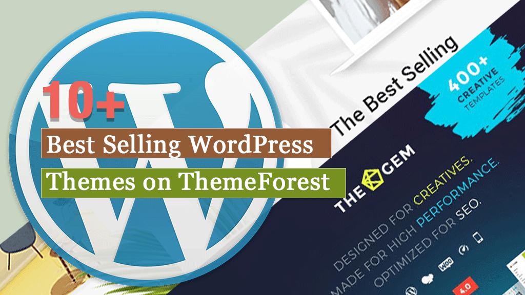 Suosituimmat WordPress-teemat ThemeForestissa