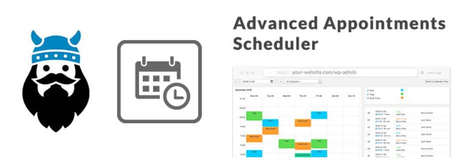 vikappointments servicios calendario de reservas plugin de wordpress