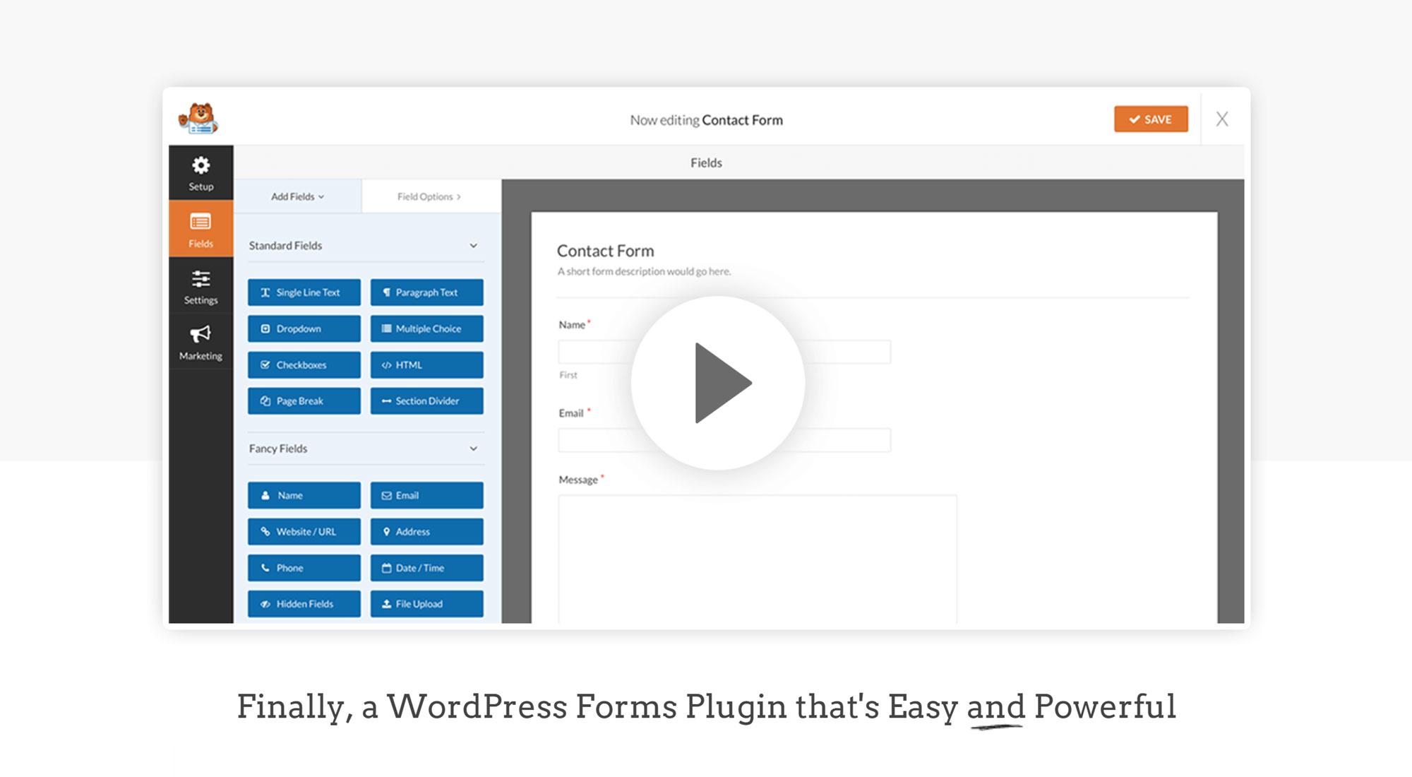 WPForms WordPress Form Plugin