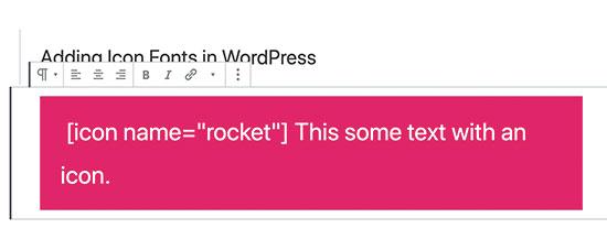 WordPress-də simge mənbə kodu əlavə edin
