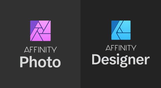 Diseñador de afinidad y foto