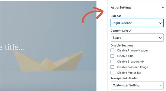 Astra tema tək poçt şablonu özelleştirme