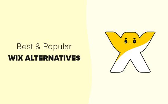 Ən yaxşı Wix alternativləri